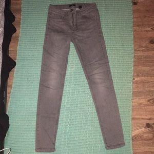Pants - H&M Grey Denim Jeans